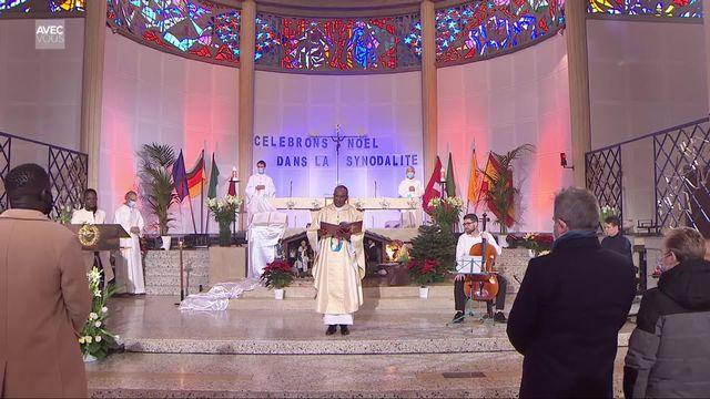 Messe de la Nativité en direct depuis la chapelle de La Longeraie à Morges [RTS]