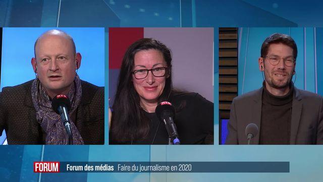 Forum des médias - Faire du journalisme en 2020 [RTS]