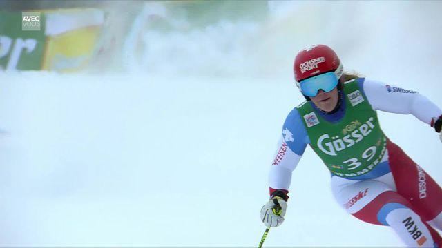 Semmering (AUT), Géant dames, 1e manche: Mélanie Meillard (SUI) pas en seconde manche [RTS]