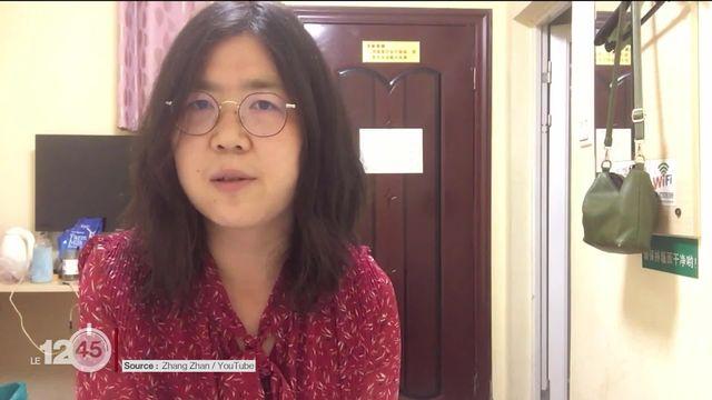 Une journaliste chinoise condamnée à 4 ans de prison pour avoir couvert l'épidémie de Covid-19 à Wuhan [RTS]