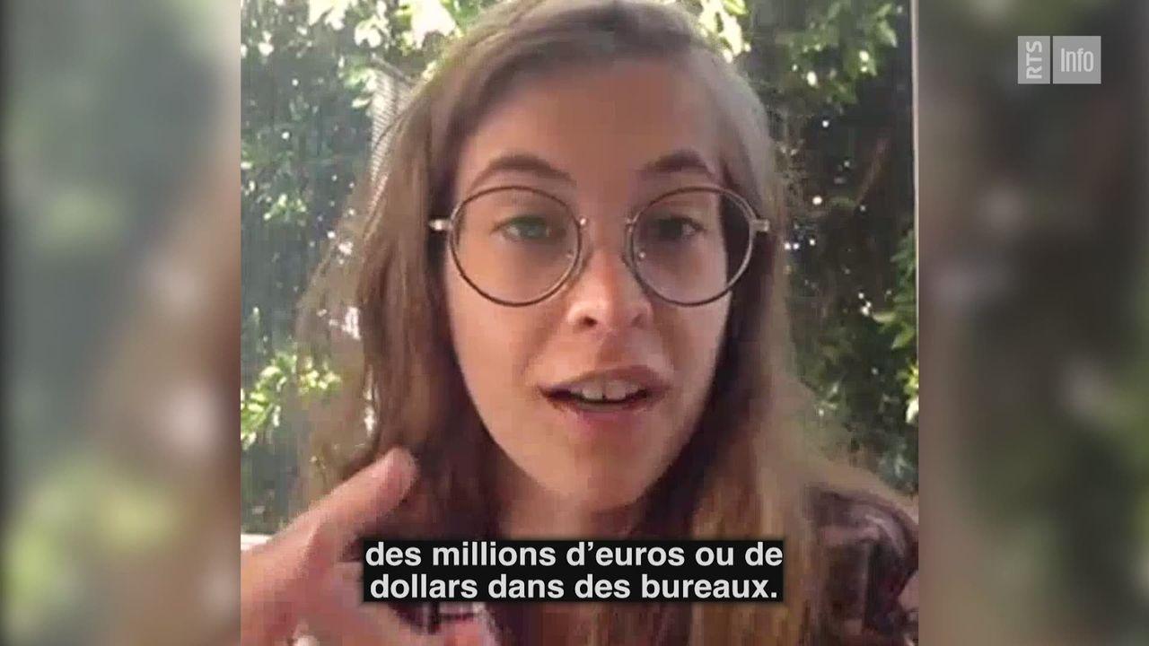 Interview de Christelle Rohaut, co-fondatrice de Codi [RTS]