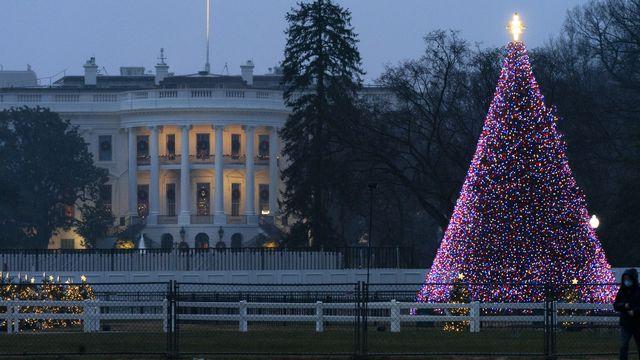 La Maison Blanche à Washington D.C., photographiée ici le 24 décembre 2020. [Jacquelyn Martin - AP/Keystone]