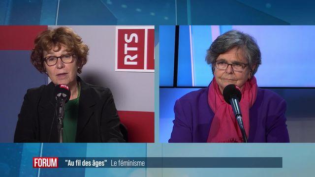 Au fil des âges sur le féminisme : débat entre Ruth Dreifuss, Brigitte Studer et Valérie Vuille [RTS]