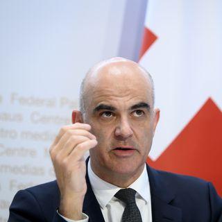 Le conseiller fédéral en charge de la Santé Alain Berset. [Anthony Anex - Keystone]