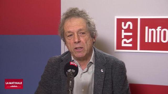 L'invité de La Matinale (vidéo) - Willy Benz, astrophysicien et membre de la Commission fédérale pour les affaires spatiales (CFAS) [RTS]