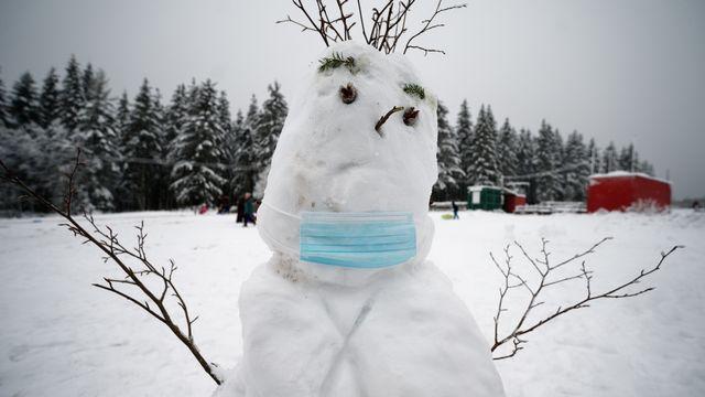 De la neige va tomber jusqu'en plaine en Suisse romande. [DPA/Henning Kaiser - Keystone]