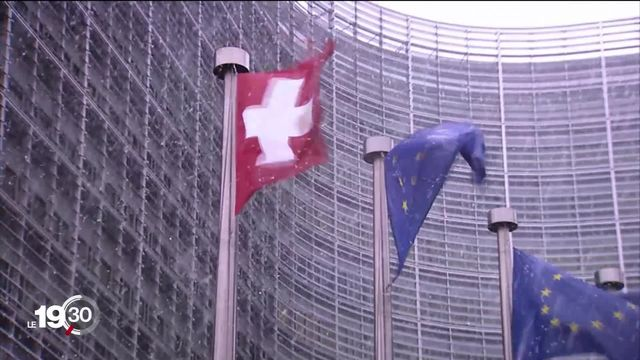 Le Brexit incite certains à demander une renégociation de l'accord cadre, plus favorable à la Suisse [RTS]