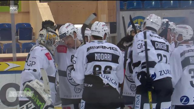 Hockey, National League, 31e journée: Davos - Lugano (1-3) [RTS]