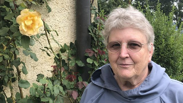 Françoise Mathez soeur de Grandchamp. [Gabrielle Desarzens - RTSreligion]