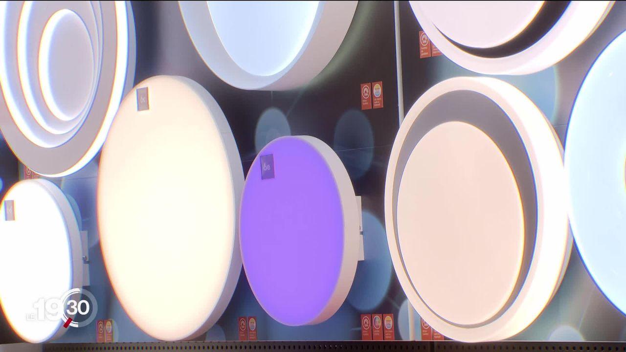 Cumulant rendement et qualité de lumière, les LED atteignent 60% de parts de marché en Suisse [RTS]