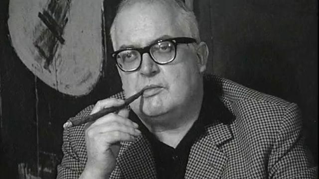 L'écrivain Friedrich Dürrenmatt interviewé en 1967. [RTS]