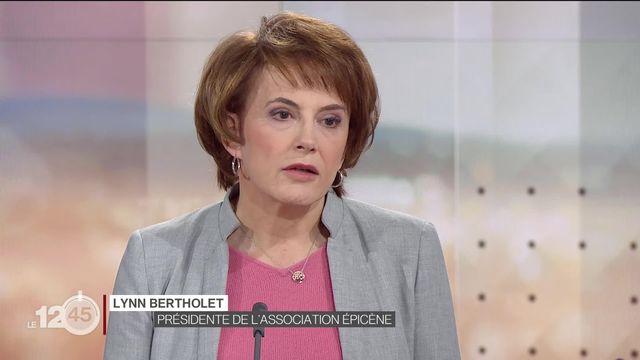 Reliefs: Lynn Bertholet, présidente de l'Association Epicène, expose la situation des personnes transgenres [RTS]