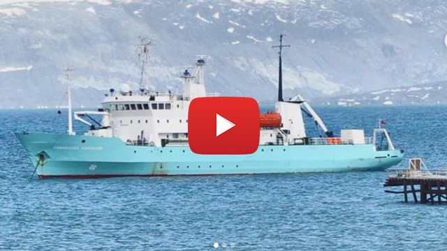 Le navire Professeur Molchanov en Arctique. [UniArctic]