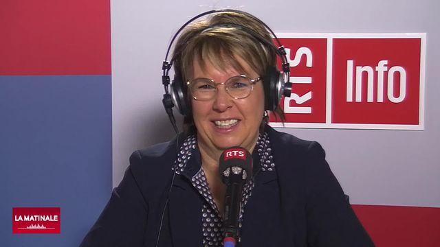 L'invitée de La Matinale (vidéo) - Nathalie Barthoulot, présidente du gouvernement jurassien [RTS]