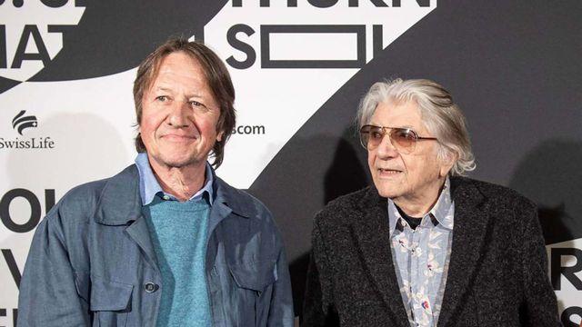 Christoph Kühn et Paul Nizon lors des Journées de Soleure. [Journées de Soleure]