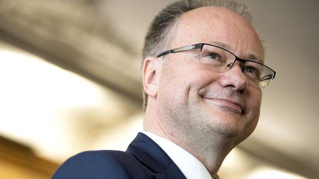 Le conseiller d'Etat fribourgeois Maurice Ropraz ne briguera pas de troisième mandat. [Anthony Anex - KEYSTONE]