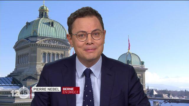 L'Union syndicale suisse inquiète pour le marché du travail. Elle fait un appel à la solidarité. Explications Pierre Nebel. [RTS]