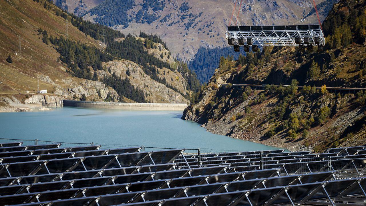 Un parc solaire flottant situé en Valais récompensé par un Watt d'Or