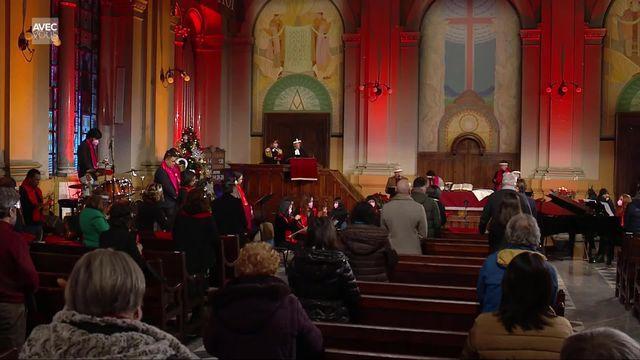 Culte de Noël en Eurovision de l'Eglise méthodiste de Rome [RTS]