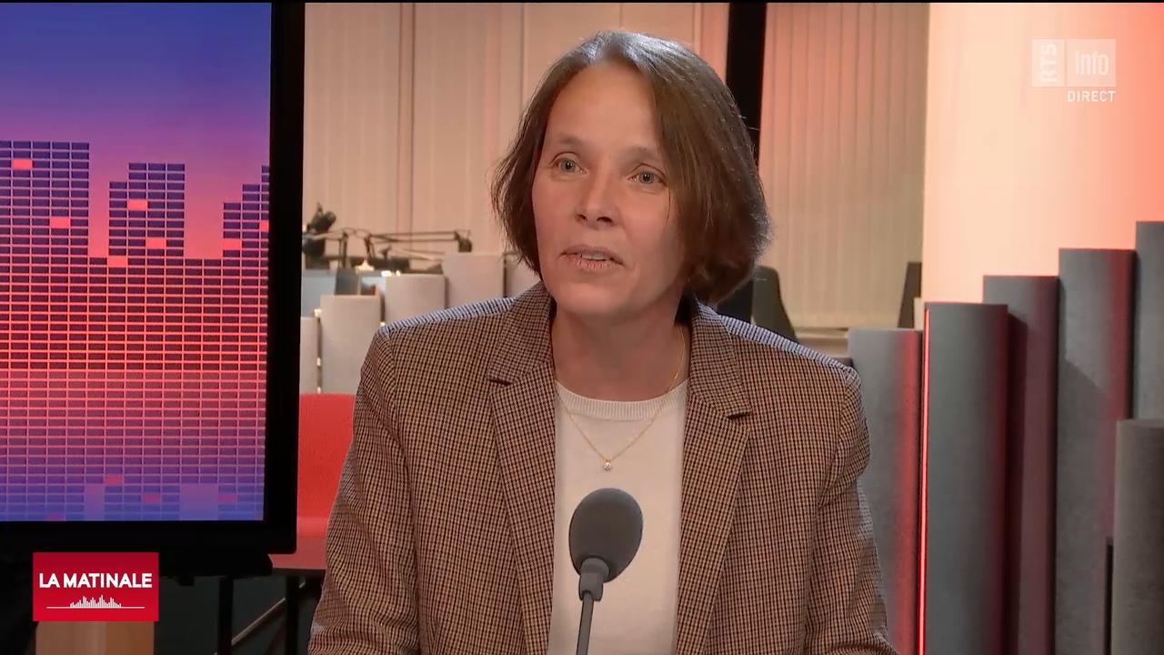 Martine Ruggli-Ducrot, nouvelle présidente de pharmaSuisse. [RTS]