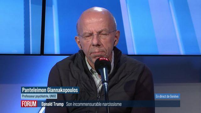 L'incommensurable narcissisme de Donald Trump : interview de Panteleimon Giannakopoulos [RTS]