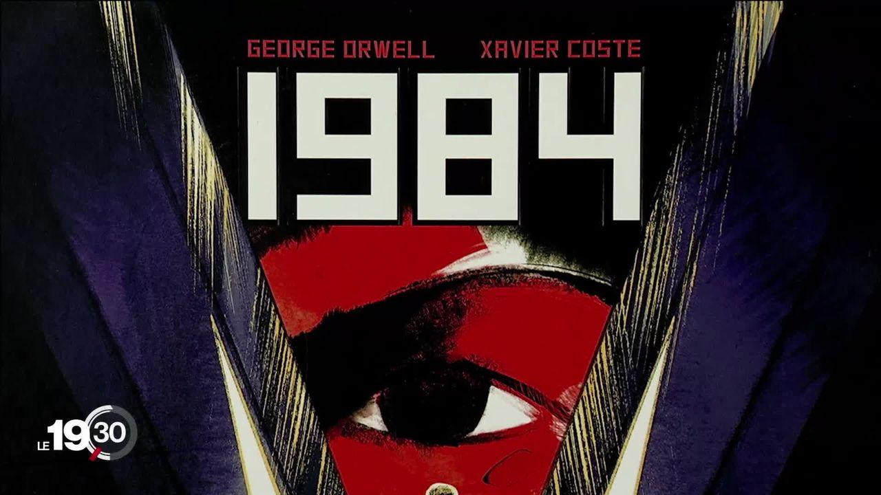 Le roman 1984 de George Orwell s'offre une deuxième jeunesse en BD, avec cinq adaptations [RTS]