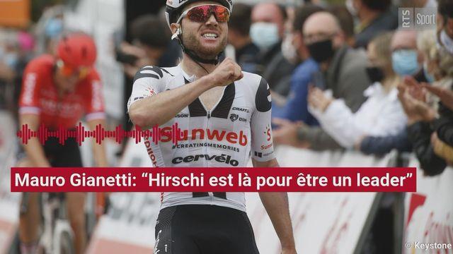 "Cyclisme: Mauro Gianetti: ""Marc Hirschi est un leader"" [RTS]"