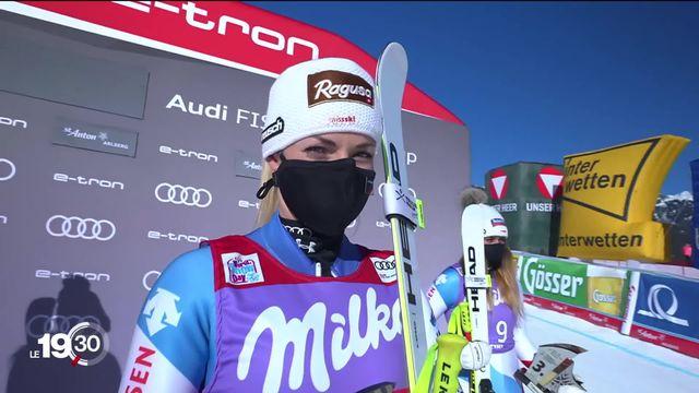 Lara Gut-Behrami célèbre sa 27e victoire en Coupe du monde au super-G de St.Anton [RTS]