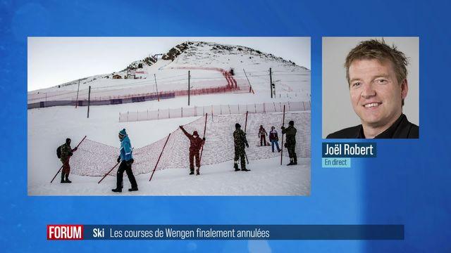 Pas de courses de ski à Wengen en fin de semaine à cause de la pandémie [RTS]