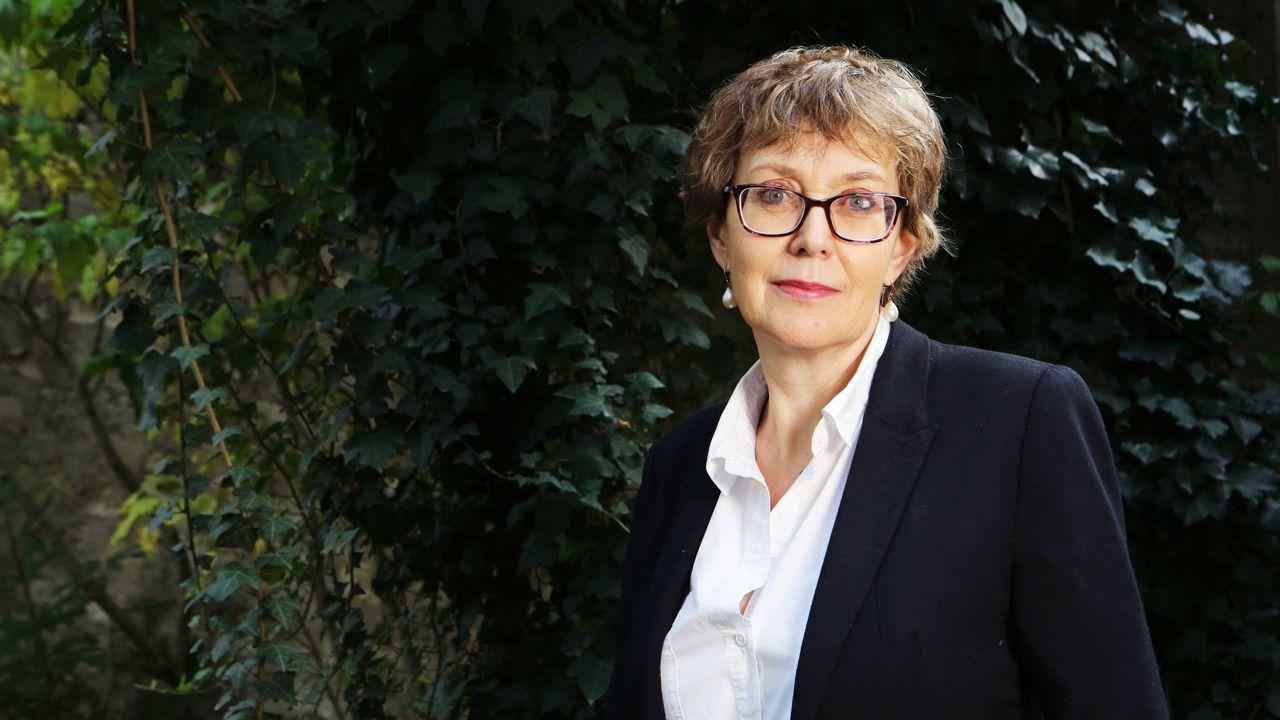 La romancière Gaëlle Josse. [Louise Oligny. - DR]