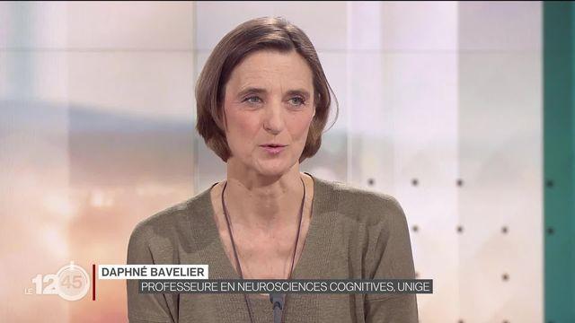 Reliefs: Daphné Bavelier, Prof. et chercheuse en neurosciences cognitives, sur l'impact des jeux vidéo sur notre cerveau [RTS]