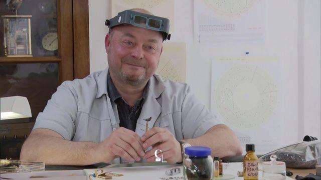 Entretien avec Nicolas Court, automatier-horloger. [RTS]