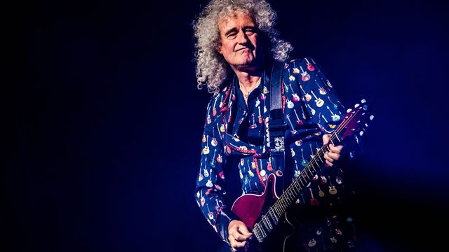 Brian May, guitariste de Queen. [Mairo Cinquetti  - AFP]