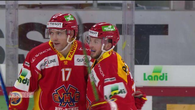 National League, 34e journée: Bienne - Langnau (4-0) [RTS]