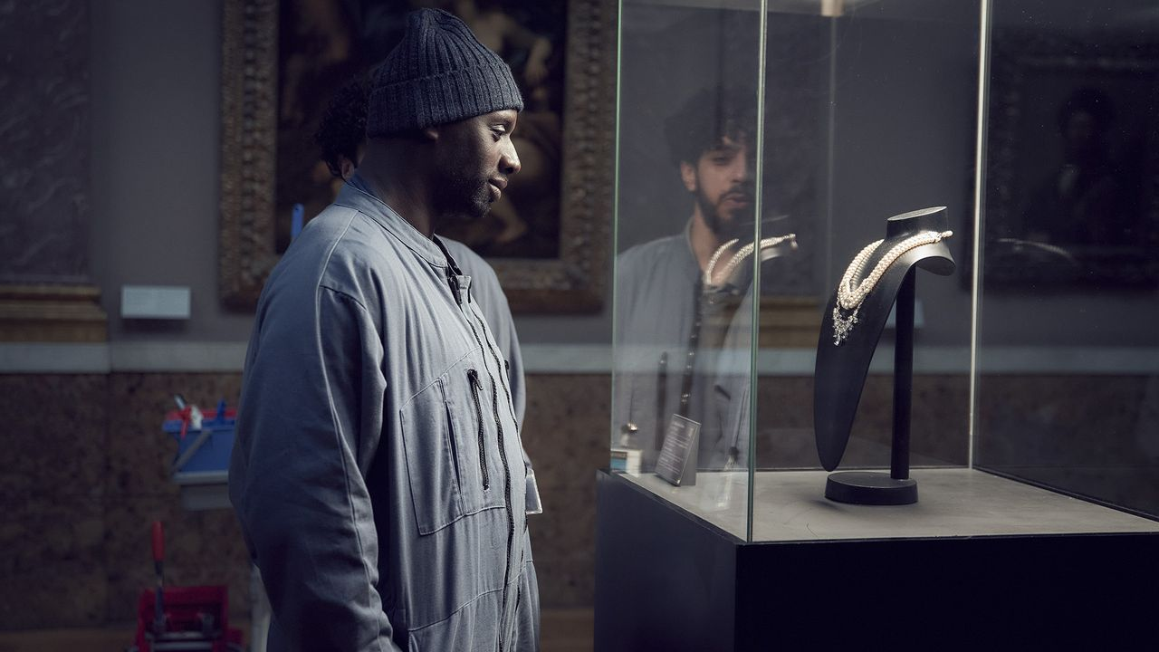 "Omar Sy dans la série ""Lupin"". [Netlfix]"