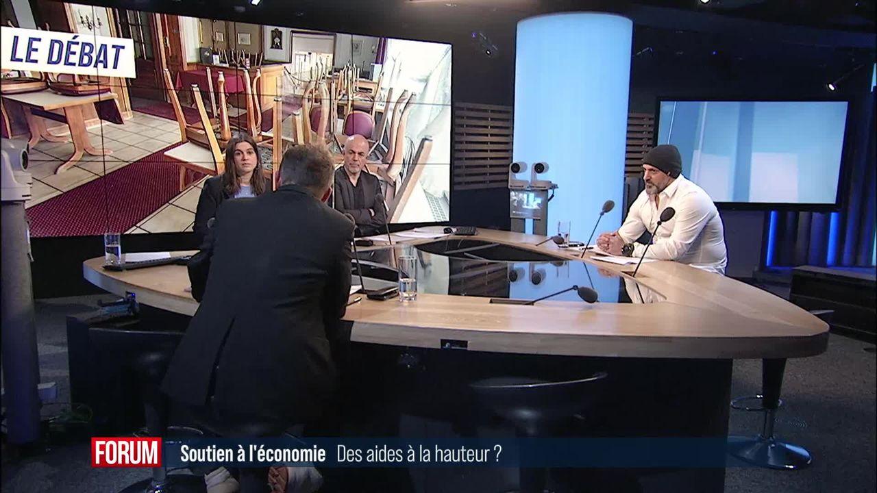 Le grand débat - Les aides financières allouées par le Conseil fédéral sont-elles trop maigres? [RTS]
