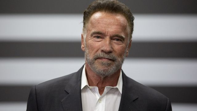 Arnold Schwarzenegger. [Suamy Beydoun - AFP]