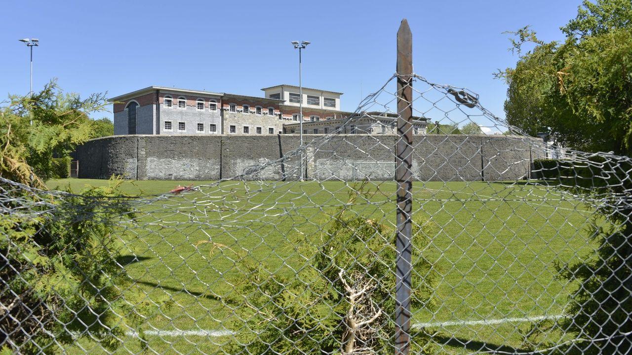 Un rapport parlementaire critique les conditions de détention dans les prisons vaudoises. [Christian Brun - KEYSTONE]