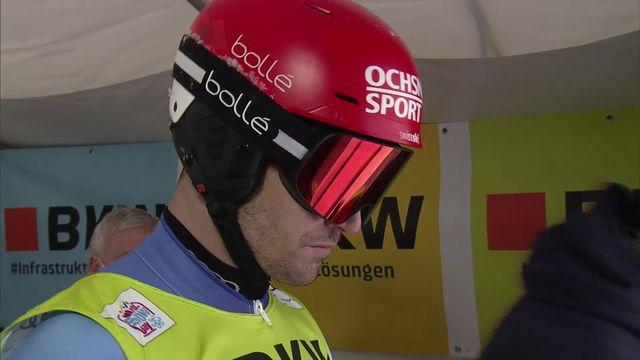 Flachau (AUT), slalom messieurs: Loïc Meillard (SUI) [RTS]