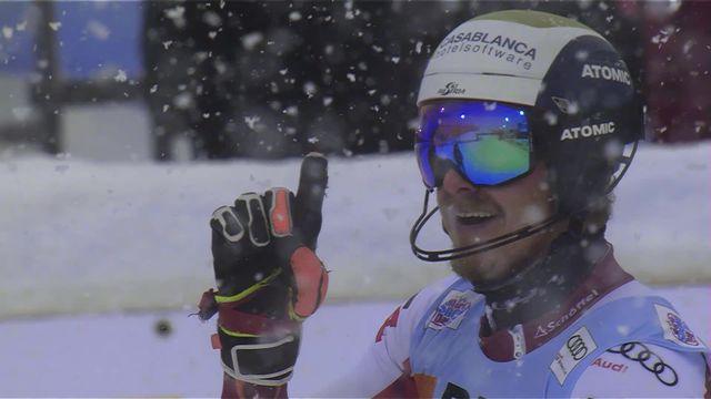 Flachau (AUT), slalom messieurs: 1re victoire en Coupe du monde pour Manuel Feller (AUT) [RTS]