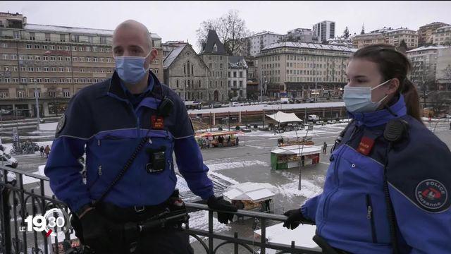 La police vaudoise adopte les bodycams, ces caméras embarquées pour filmer leurs interventions [RTS]