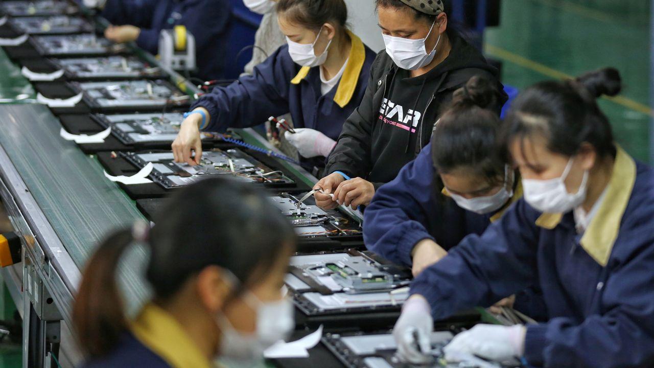 L'économie chinoise a très bien tiré parti de la pandémie de Covid-19, qui ralentit la production dans plusieurs pays du monde. [China Daily - Reuters]