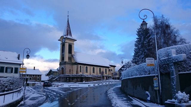 L'Église Saint Nicolas de Villars-le-Terroir. [Abaddon1337 - CC BY-SA 4.0 / Wikimedia Commons]