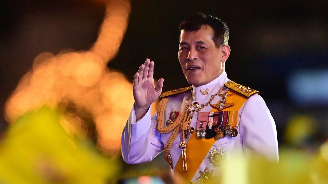 Le roi de Thaïlande Maha Vajiralongkorn.  [LILLIAN SUWANRUMPHA - AFP]