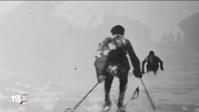 Skier c'est symbolique, quasiment identitaire en Suisse. Analyse du mythe [RTS]