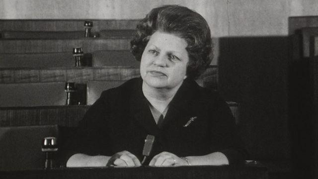 Lise Girardin  en 1968 [RTS]