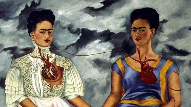 Frida Kahlo, une de ses oeuvres au Tate Museum de Londres.  [Notimex via AFP]