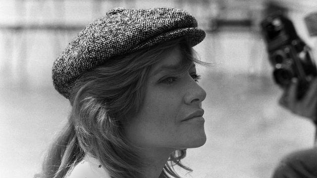 L'actrice française Nathalie Delon pose pour le photographe en mai 1973 lors du festival de Cannes. [AFP - AFP]