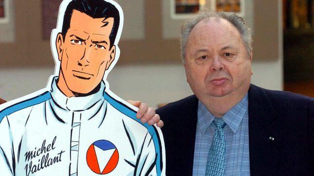 Décès de Jean Graton, créateur de la bande dessinée Michel Vaillant. [Herwig Vergult - AFP]