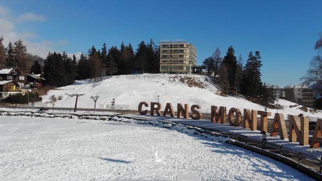 Le Grand Hotel du Parc a Crans Montana est l'un des plus anciens établissements hôteliers du Valais [RTS]